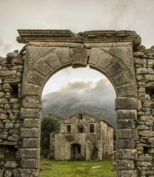 Old Perithia Corfu | Association of Corfu Travel Agents