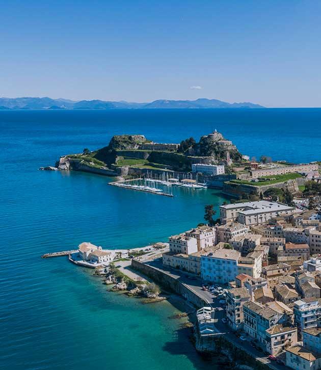 Old Fortress Corfu | Association of Corfu Travel Agents