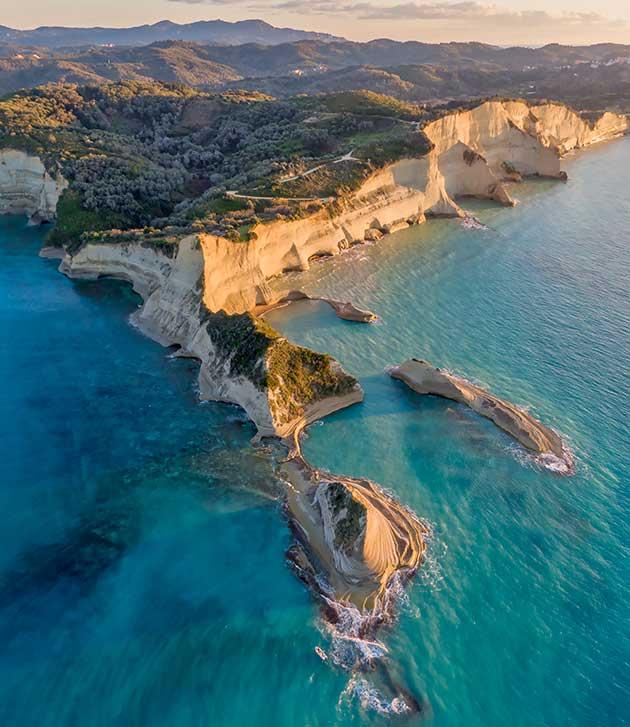Cape Drastis Corfu | Association of Corfu Travel Agents