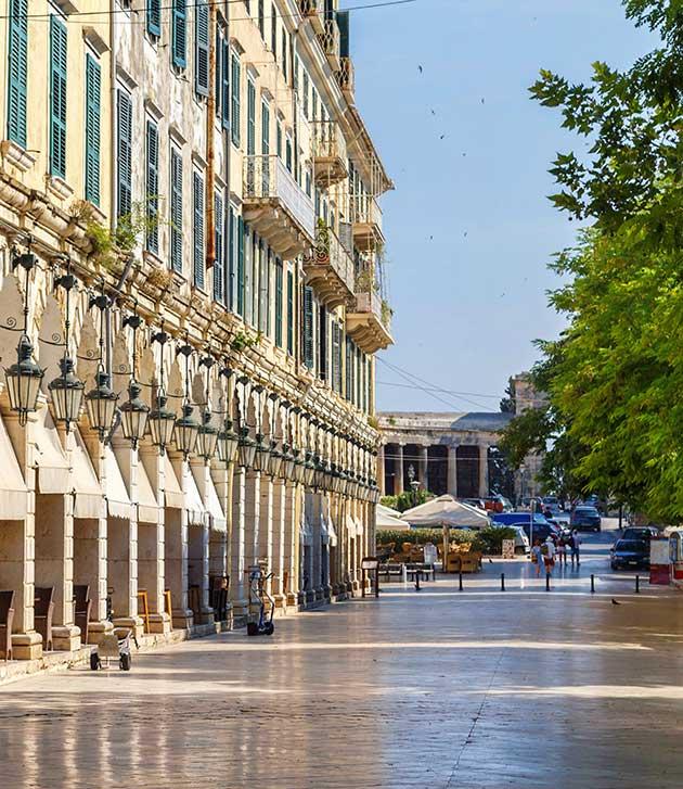 Liston Corfu | Association of Corfu Travel Agents