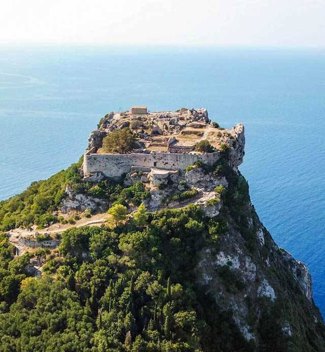 Angelokastro Corfu | Association of Corfu Travel Agents